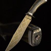 Fighter- Radiant Ribbon Damascus